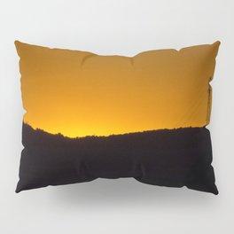 Sunset over the hills Pillow Sham