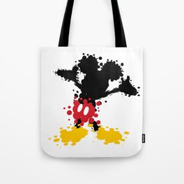 Mickey Mouse Paint Splat Magic Tote Bag