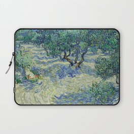 Olive Orchard by Vincent van Gogh Laptop Sleeve