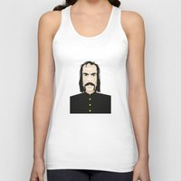 nick cave Tank Tops featuring Nick cave by Matteo Lotti