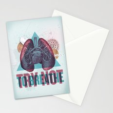 TRY NOT TO BREATHE Stationery Cards