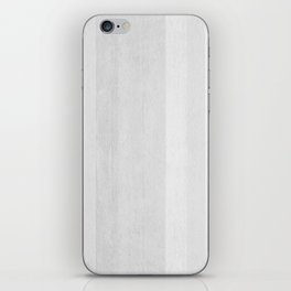 Gray Stripe Pattern iPhone Skin