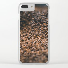 Roasted Coffee 2 Clear iPhone Case