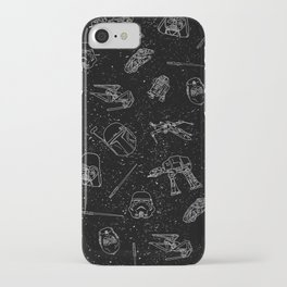 Star Doodles iPhone Case