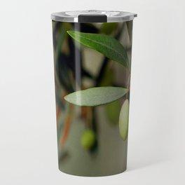 Olives On A Branch Travel Mug