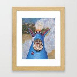 Take Offs are Golden Framed Art Print