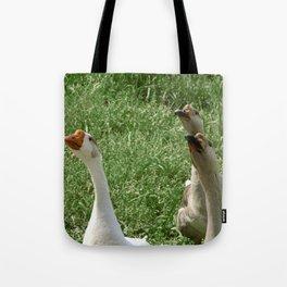 Three Little Peckerheads Tote Bag
