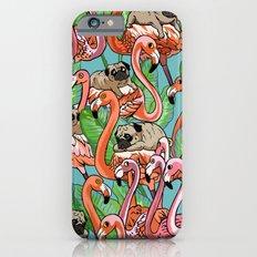 Flamingo Party Slim Case iPhone 6