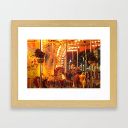 Merry Go Round Framed Art Print