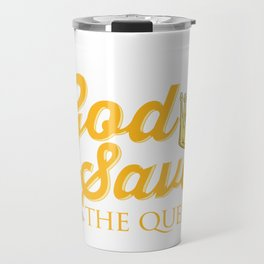 Beekeeper God Save the Queen Beekeeper Gift Travel Mug