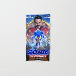 The Hedgehog Sonic 2020 Hand & Bath Towel
