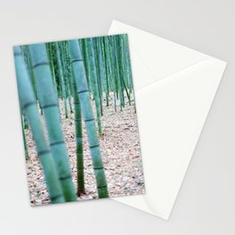 The Bamboo Grove, Arashiyama, Kyoto Stationery Cards