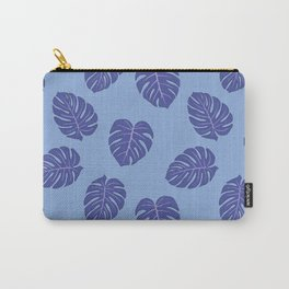 Monstera trendy - purple Carry-All Pouch