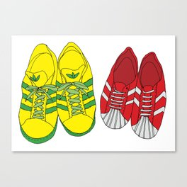 Shoe Love Canvas Print