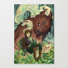Warg Canvas Print