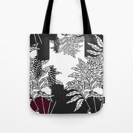 fern tasy leaves Tote Bag