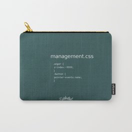 anger_management.css Carry-All Pouch