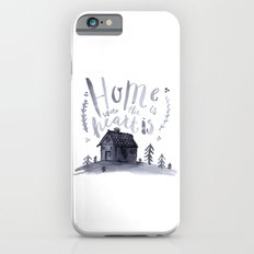 Home Is Where The Heart Is iPhone 6s Slim Case