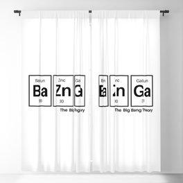 Bazinga Blackout Curtain