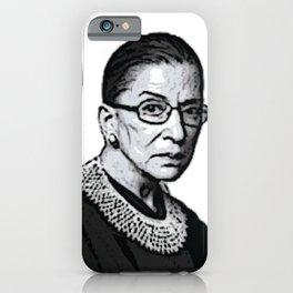 The Honorable Ruth Bader Ginsburg iPhone Case