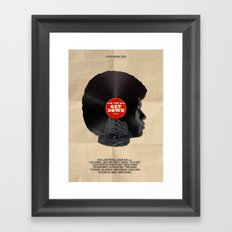 The Get Down Framed Art Print