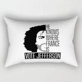 Vote For Thomas Jefferson Rectangular Pillow