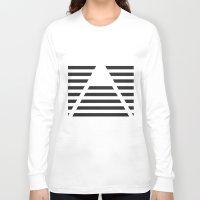 pyramid Long Sleeve T-shirts featuring Pyramid by Justin Yanke