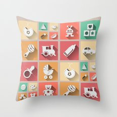 Baby Windows 8.1 Throw Pillow