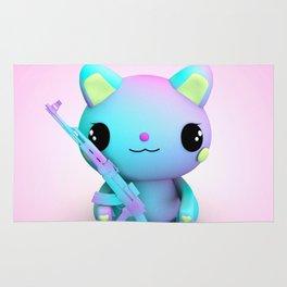 Pastel Kitty Rug