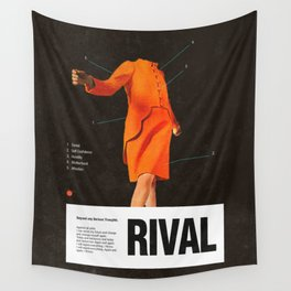 Self Rival Wall Tapestry