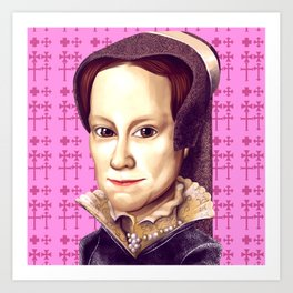 Mary Tudor, Mary I of England Art Print