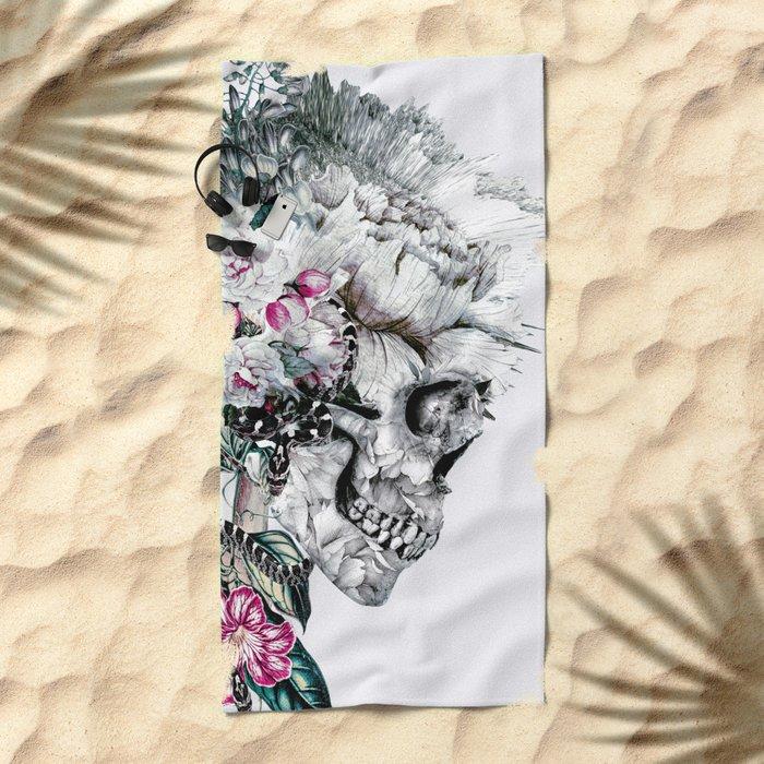 Momento Mori Rev V Beach Towel