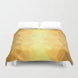 Metallic Geometry Duvet Cover