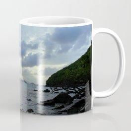 Watercolor Sunset, St John 10, USVI Coffee Mug
