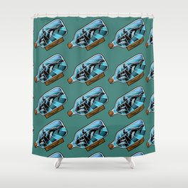 SeaWorld Sucks Shower Curtain