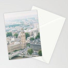 London Skyline Travel Photography Stationery Cards