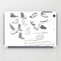 Hipsters Wear Shoes iPad Case