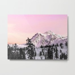 Sunrise on Shuksan Metal Print
