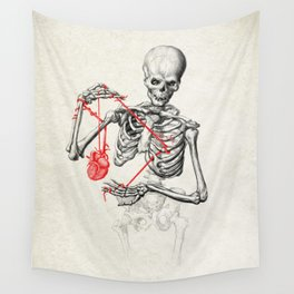 I need a heart to feel complete Wall Tapestry