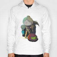 samus Hoodies featuring Samus by Rod Perich