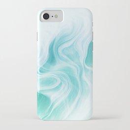 Marble sandstone - ice iPhone Case