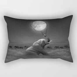 Bringing Light to the Darkness Rectangular Pillow