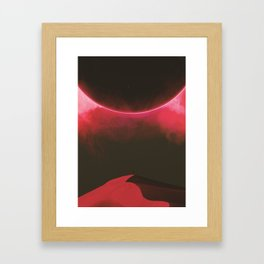 Second Sundown Framed Art Print