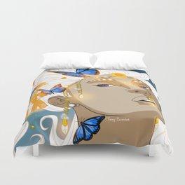 Butterflies Amazon Duvet Cover