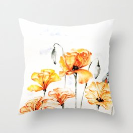 Springful thoughts Throw Pillow