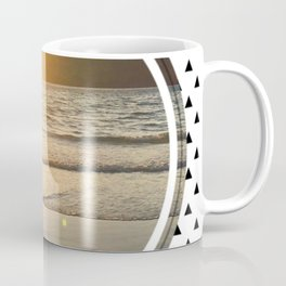 Port Erin - small triangle graphic Coffee Mug