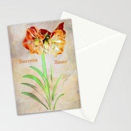Amaryllis Amore Stationery Cards