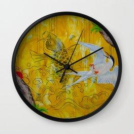 Lucky Terns Wall Clock