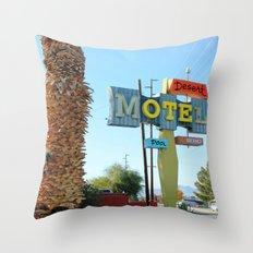 Desert OTE Throw Pillow