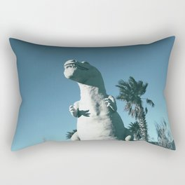 Cabazon Dinosaurs Rectangular Pillow